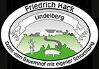 Hofmetzgerei Friedrich Hack, Lindelberg – Reine Geschmackssache Logo
